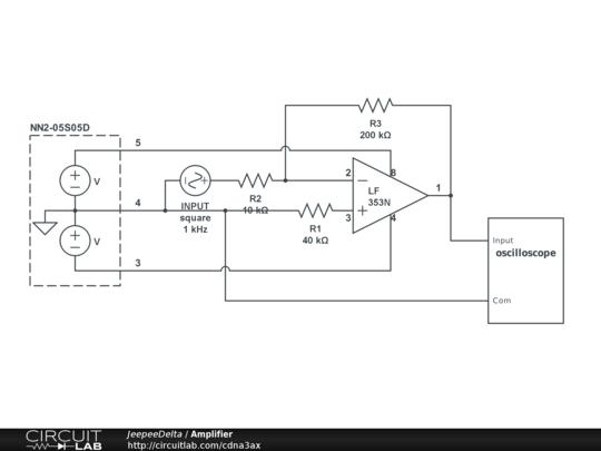 测试了上次搭建的电路.电源电压d.c